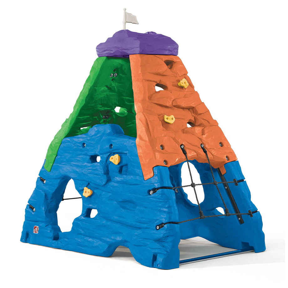 【保育園 幼稚園】STEP2 ステップツー スカイワード サミット ロッククライミング カラーバージョン 【玩具 おもちゃ 遊具】
