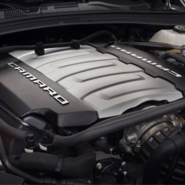 【純正アップグレードパーツ】CHEVROLET/シボレー CAMARO/カマロ エンジンカバー ブルー SS 6.2L LT1エンジン '16y~【アメ車パーツ】