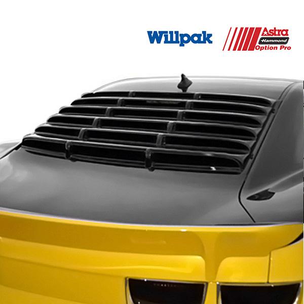 シボレー カマロ クーペ WILLPAK ウィルパック  ウインドルーバー スムースタイプ ABS '10y~'15y【アメ車パーツ】
