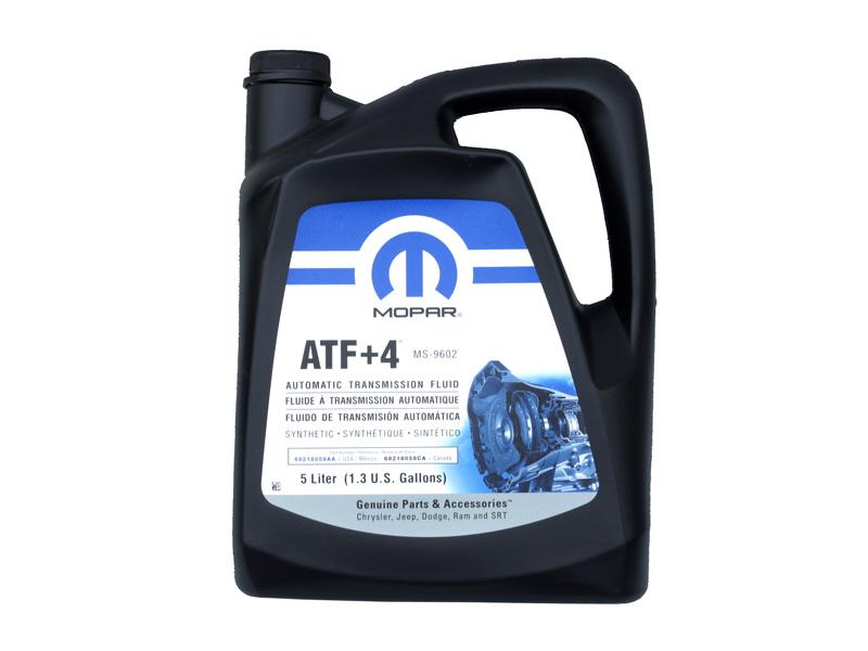 クライスラー ダッジ ATオイルフルード 油脂 MOPAR/モパー +4/プラス4 5L入り