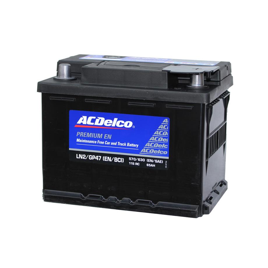カーバッテリー AC DELCO LN2 トップターミナル AC デルコ 欧州車 ベンツ BMW アウディ ポルシェ ワーゲン等