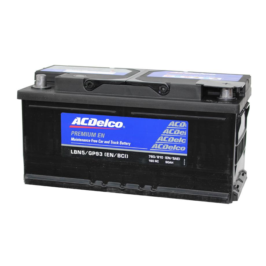 カーバッテリー AC DELCO LBN5 トップターミナル AC デルコ 欧州車 ベンツ BMW アウディ ポルシェ ワーゲン等