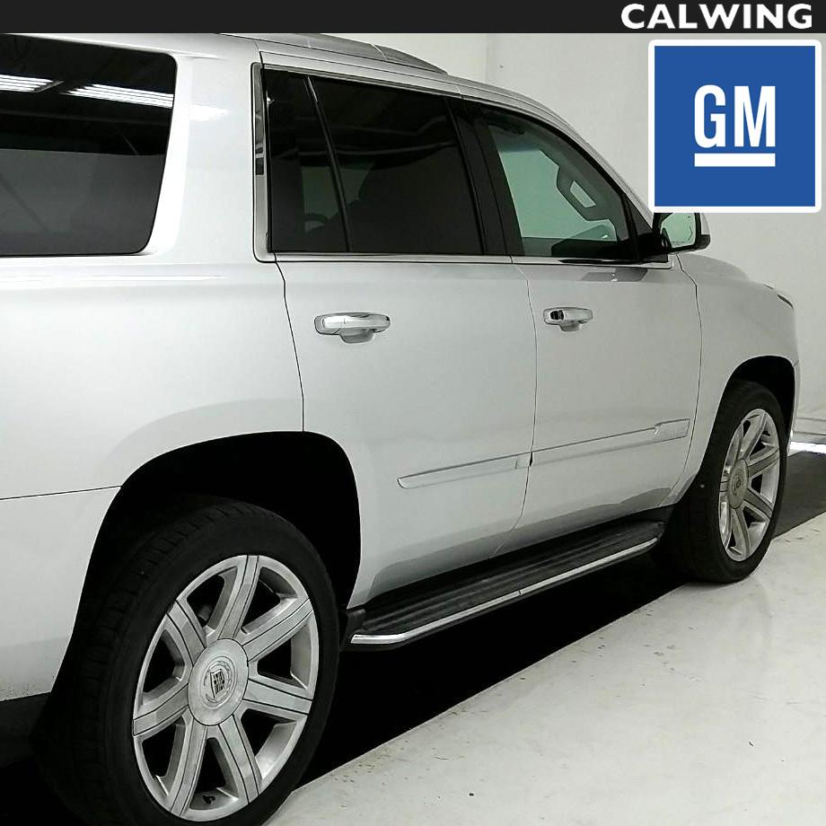 Cadillac/キャデラック ESCALADE/エスカレード GM純正 サイドステップASSY ランニングボード 右 '15y~【アメ車パーツ】