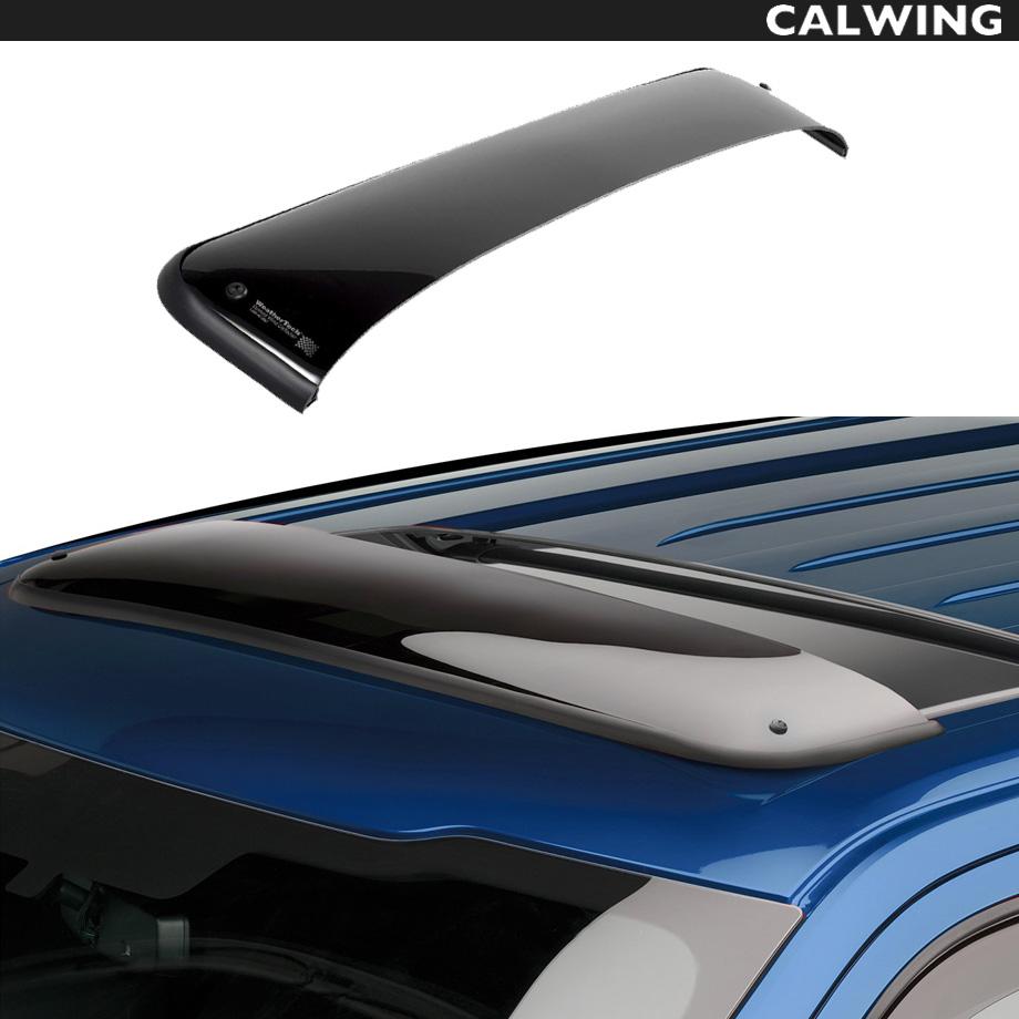 【車種専用設計】Cadillac/キャデラック ESCALADE/エスカレード サンルーフバイザー スモーク ウェザーテック/WeatherTech '07y-'14y【アメ車パーツ】