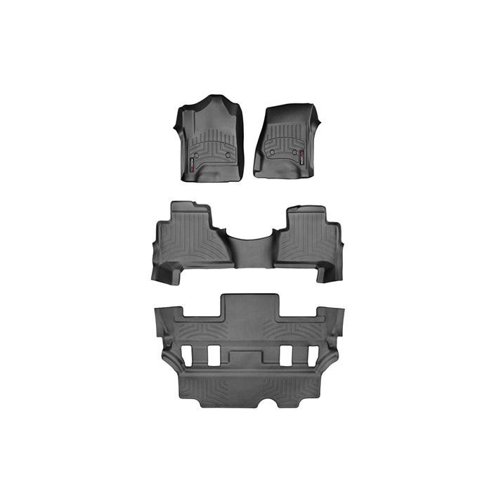 15y- エスカレード フロアライナーセット ウェザーテック ブラック 4PC