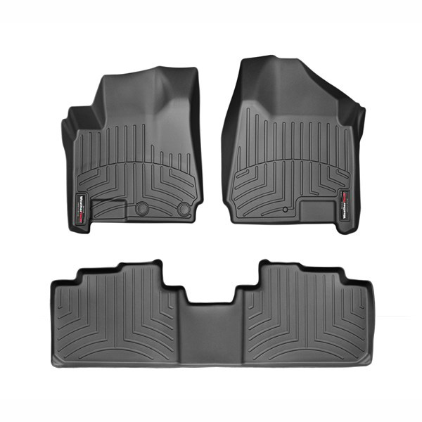 【車種専用設計】キャデラック CADILLAC SRX フロアライナー ブラック ウェザーテック/WeatherTech '10y~'16y
