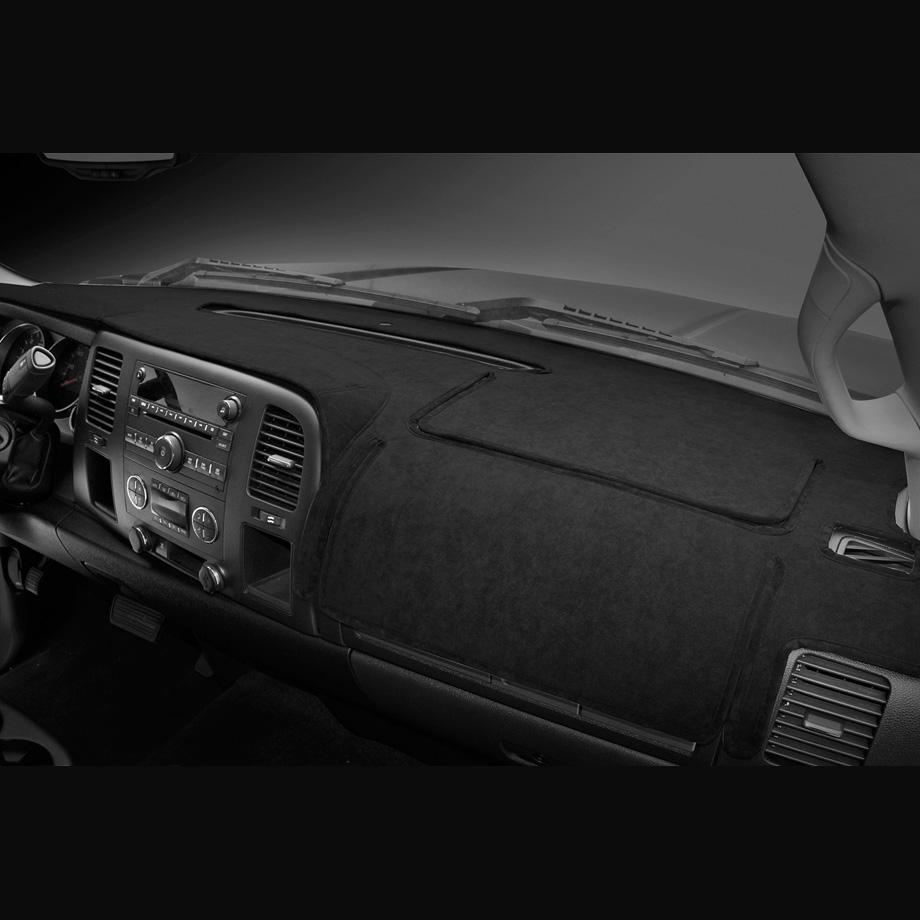 TOYOTA/トヨタ タンドラ '07y-'13y ダッシュマット ブラック ベロア サイドスピーカー付車用 COVERKING/カバーキング【逆輸入車パーツ】