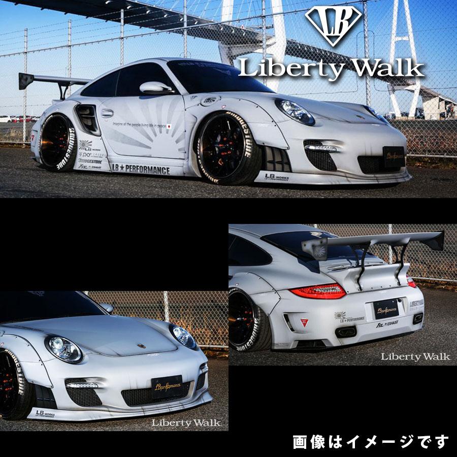 PORSCHE ポルシェ 997 911 ターボ LB☆ワークス コンプリートボディキット バージョン1 カーボンFRP製