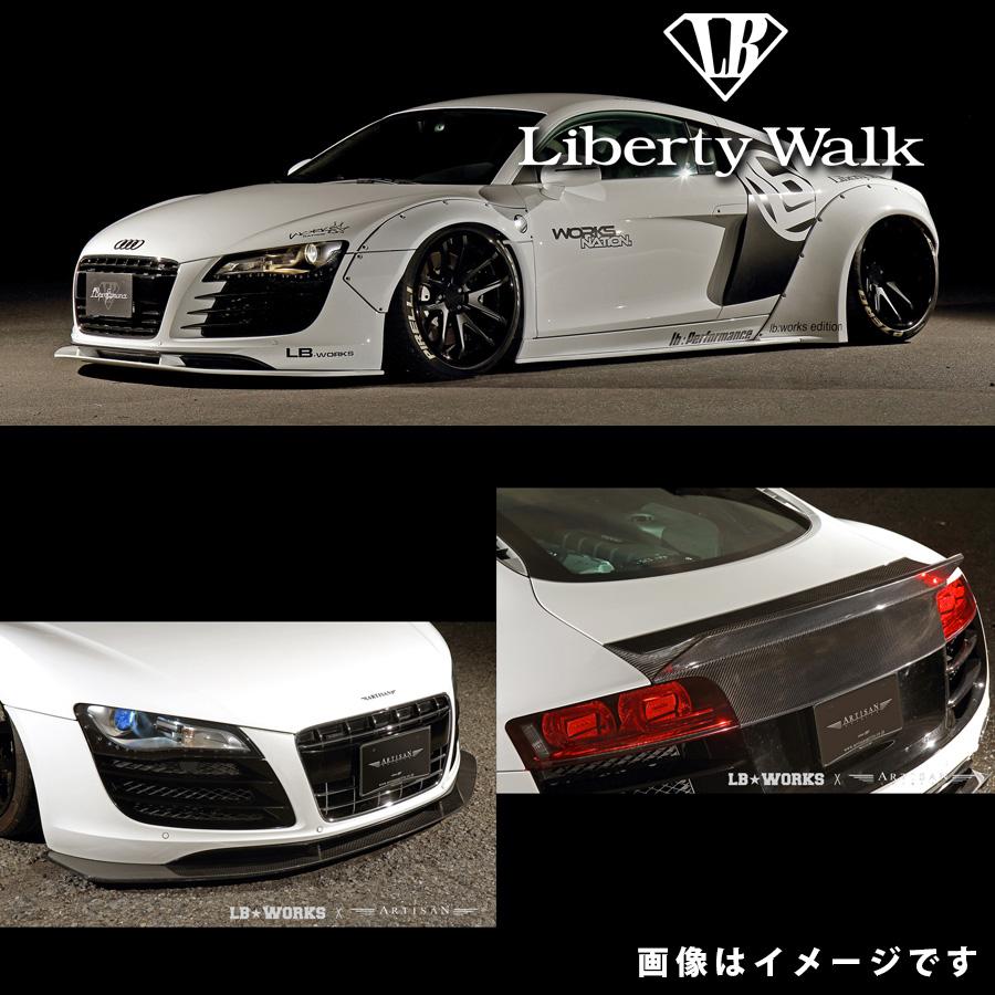 アウディ R8 V8 LB☆ワークス コンプリートボディキット カーボンFRP製