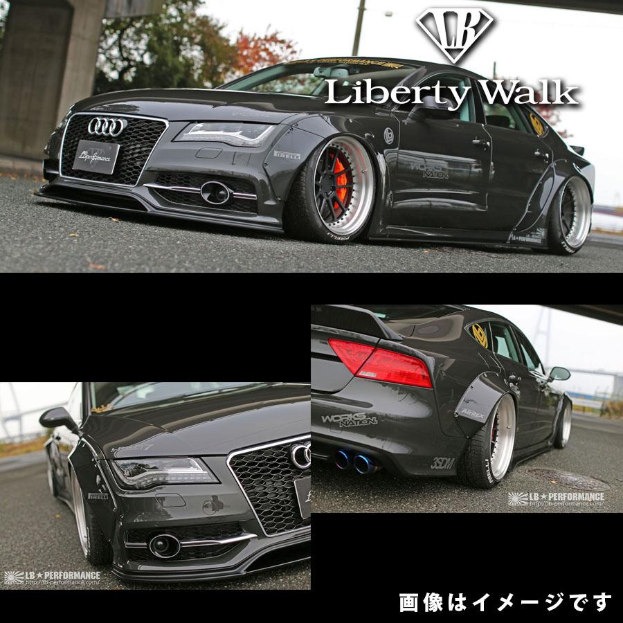 アウディ A7 S7 LB☆ワークス バンパータイプ コンプリートボディキット FRP製