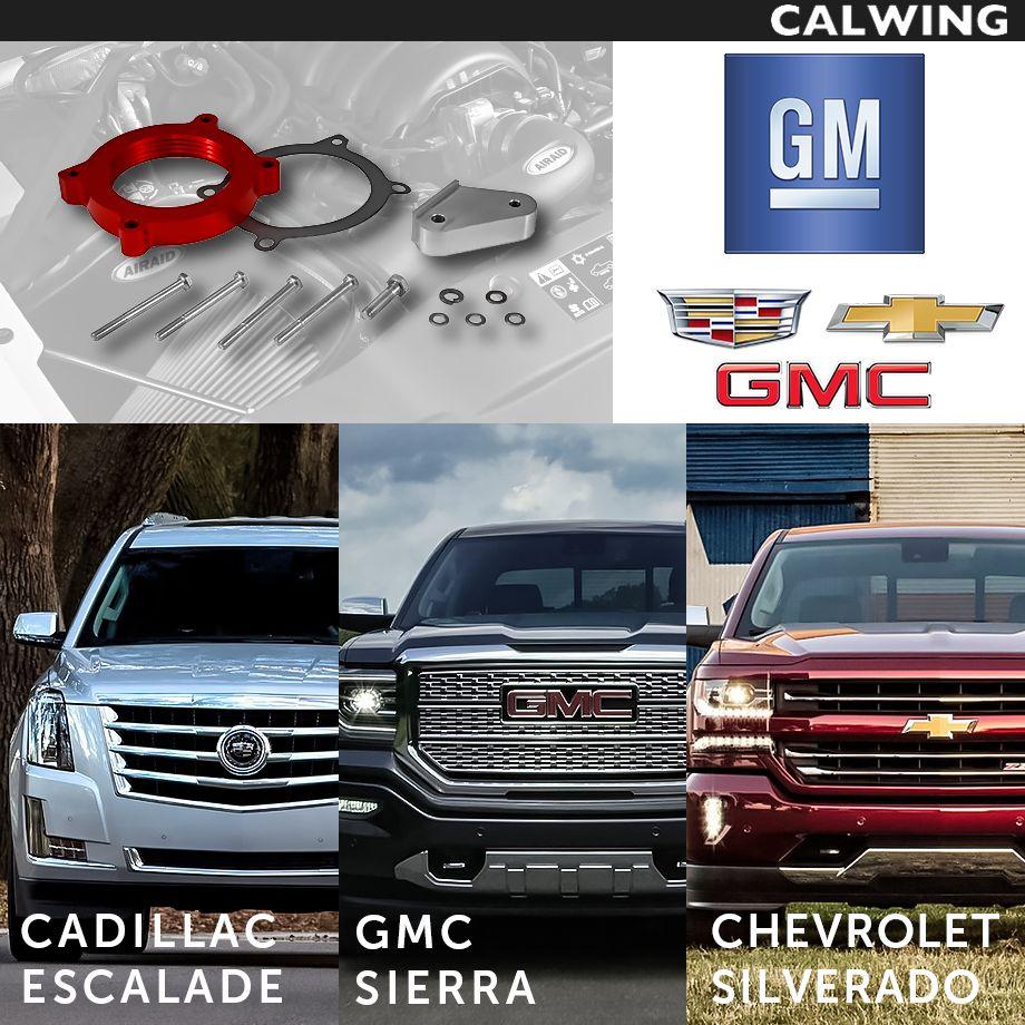 Cadillac/キャデラック ESCALADE/エスカレード スロットルボディスペーサー ビレットアルミニウム AIRAIDパーツ '15y~【アメ車パーツ】