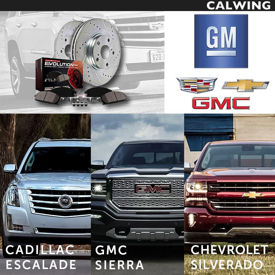 Cadillac/キャデラック ESCALADE/エスカレード Z23 エボリューション 強化パフォーマンスブレーキキット フロント&リア パット&ローターキット ドリルド&スリット入り '15y~【アメ車パーツ】