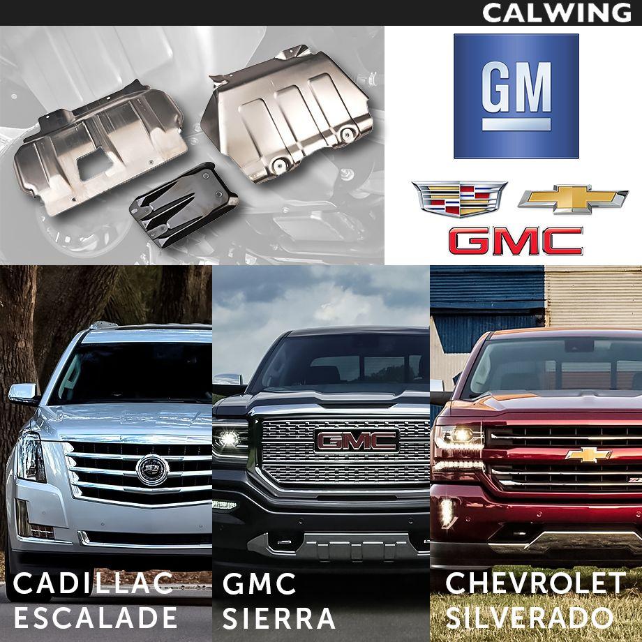 Cadillac/キャデラック ESCALADE/エスカレード エンジンアンダーシールド スプラッシュシールド スキッドプレート '15y-【アメ車パーツ】