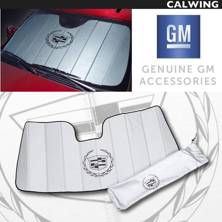Cadillac/キャデラック ESCALADE/エスカレード GM純正品 サンシェード クレスト&リースロゴ入りデザイン '15y-【アメ車パーツ】
