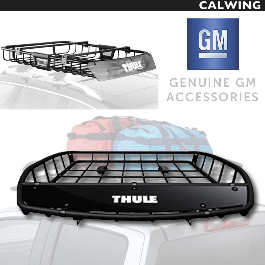 Cadillac/キャデラック ESCALADE/エスカレード ラゲッジバスケット ルーフマウント固定 フォースM THULE/スーリー '15y~【アメ車パーツ】