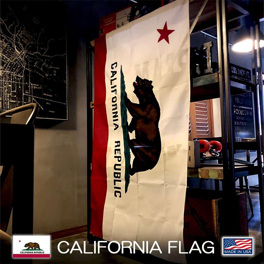 CALIFORNIAREPUBLIC/カリフォルニアリパブリック フラッグ ビッグサイズ MADE IN USA