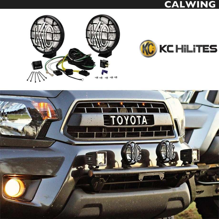 オフロードライト KC HILITES APOLLO プロハロゲン 6インチ100W スポットライト 2個セット