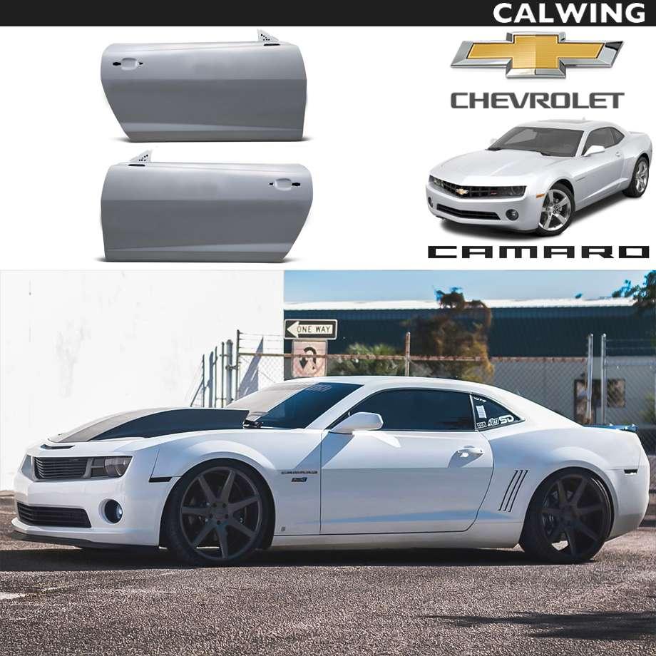 CHEVROLET/シボレー CAMARO/カマロ '10y~'15y | スタンスカスタム 軽量 グラスファイバー製ドア ペア パフォーマンスパーツ【アメ車パーツ】
