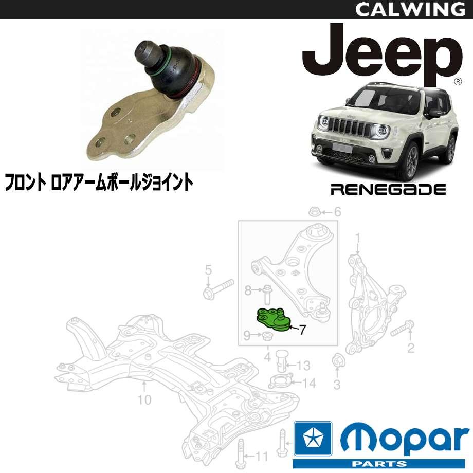 JEEP/ジープ RENEGADE/レネゲード '15y- | フロントロアアーム用 ボールジョイント MOPAR純正品 【アメ車パーツ】