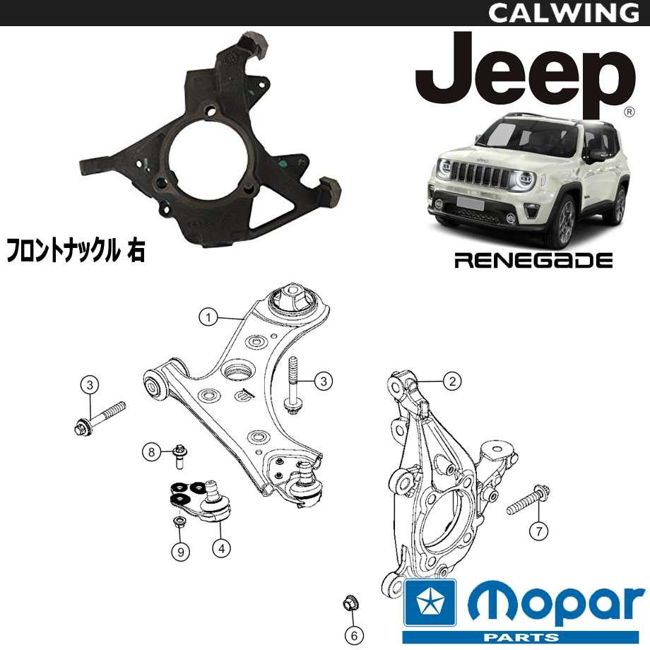 JEEP/ジープ RENEGADE/レネゲード '15y- | フロントナックル 右 MOPAR純正品 【アメ車パーツ】