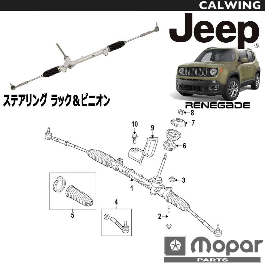 JEEP/ジープ RENEGADE/レネゲード '15y- | ステアリング ラック&ピニオン MOPAR純正品 【アメ車パーツ】