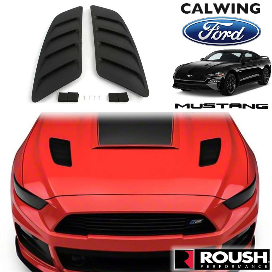 FORD/フォード MUSTANG/マスタング '15y-'17y | GT専用 フードスクープ ヒートエクストラクター ROUSH/ラウシュ【アメ車パーツ】