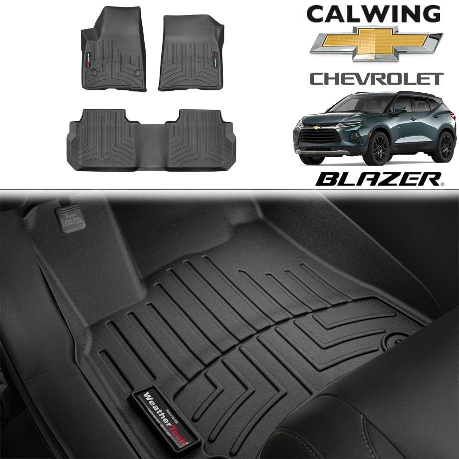 【車種専用設計】CHEVORET/シボレー BLAZER/ブレイザー '19y- | フロアマット ブラック フロアライナー WeatherTech【アメ車パーツ】