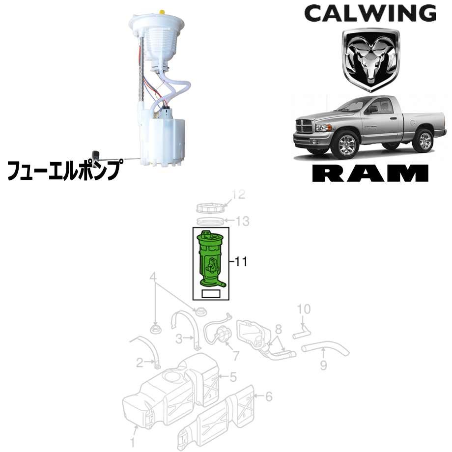 ラムピックアップ 5.7L '02y-'05y | フューエルポンプ MOPAR純正品 【アメ車パーツ】