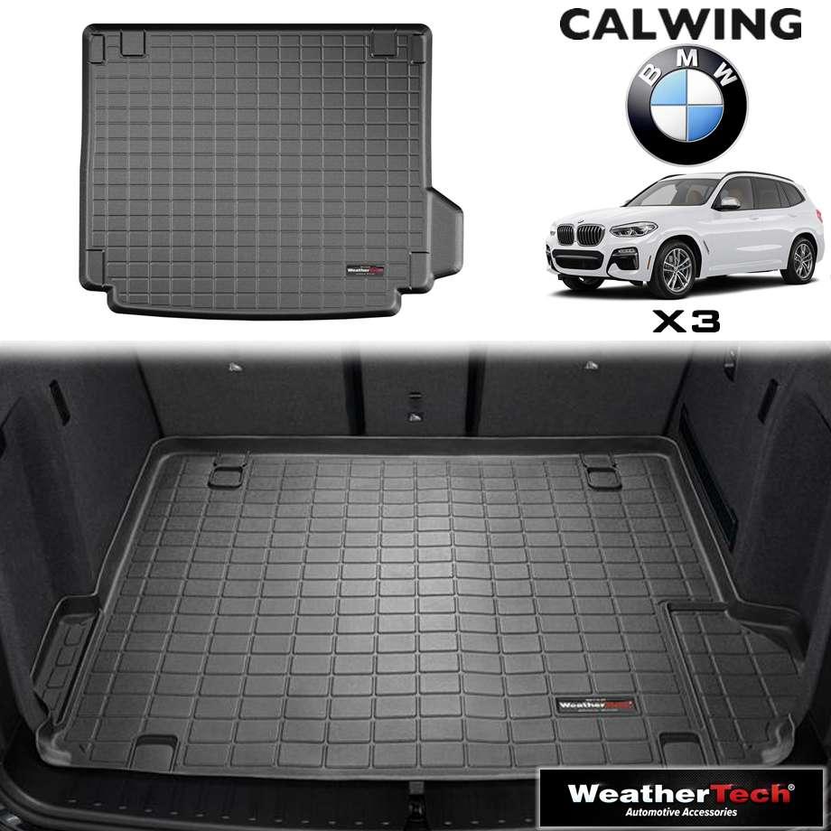 【車種専用設計】BMW X3 '18y- | カーゴマット カーゴライナー ブラック スペアタイヤコンパートメント無し車用 WeatherTech【欧州車パーツ】