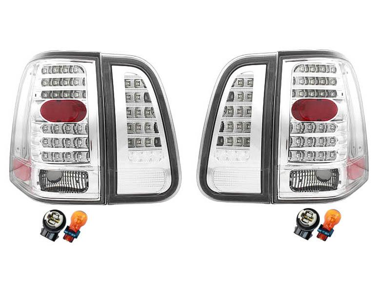 【XRIDEZ】【エックスライズ】ナビゲーター LEDテールランプ オールクリア ウインカー改善用コネクター&バルブセット '03y-'06y【アメ車パーツ】