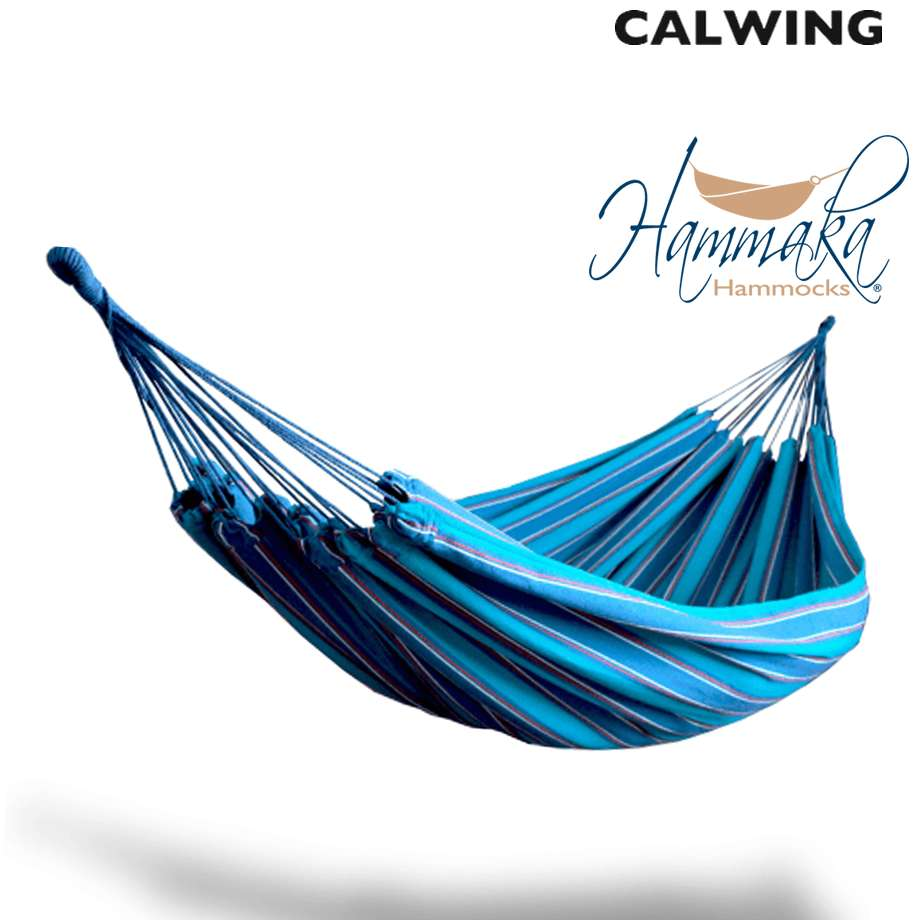 ブラジリアンハンモック ブルー | リラックス キャンプ HAMMAKA/ハンマカ【汎用品】