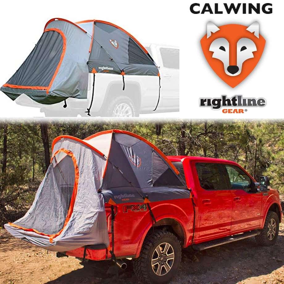 トラックテント フルサイズショートベッド用 | トラックベッド 車中泊 5.5フィート キャンプ RIGHTLINE GEAR/ライトラインギア【汎用品】