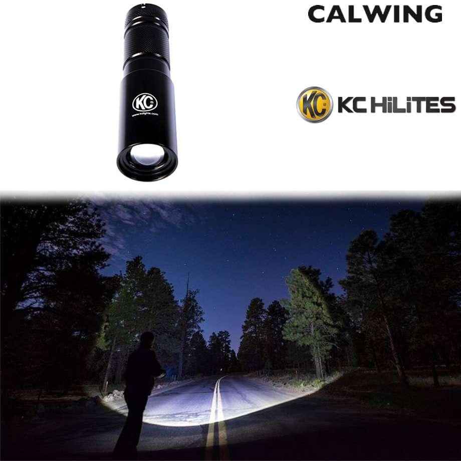 LEDフラッシュライト 3W 高輝度 懐中電灯 キャンプ KC HiLiTES【汎用品】