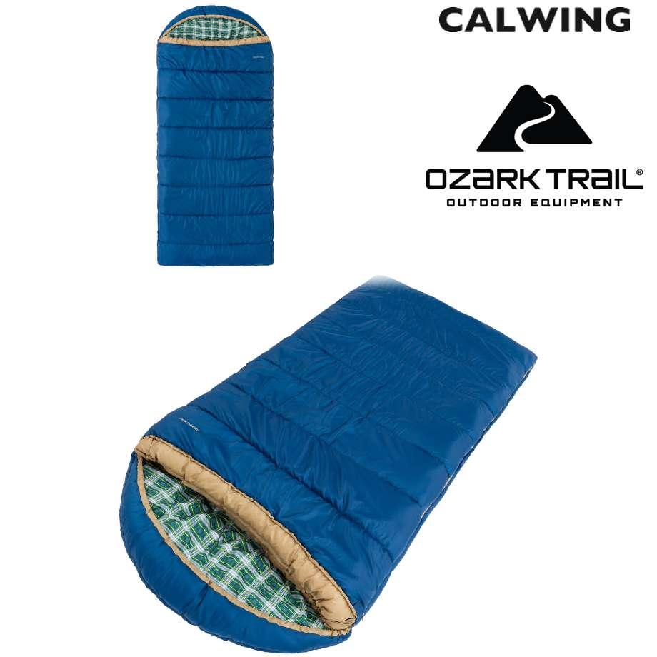 ENV Zero シュラフ -9.4℃までOK 大人1人用 XLサイズ 寝袋 OZARK TRAIL【汎用品】