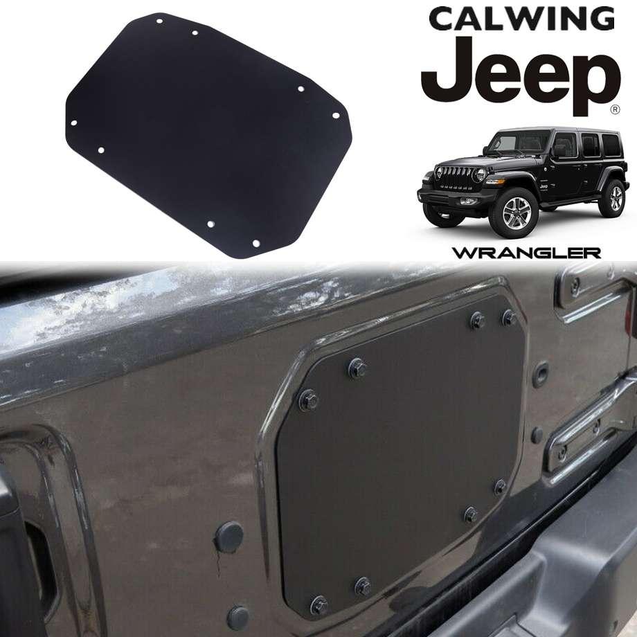 JEEP/ジープ WRANGLER/ラングラー JL '18y-   メタルテールゲートカバー プレーン 背面カバー リア【アメ車パーツ】