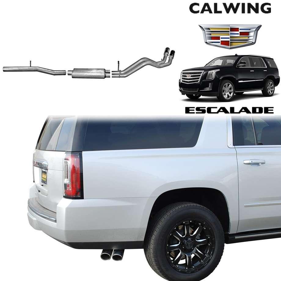 CADILLAC/キャデラック ESCALADE/エスカレード '15y-'17y   マフラー キャタバック デュアルスポーツ ステンレス GIBSON 【アメ車パーツ】
