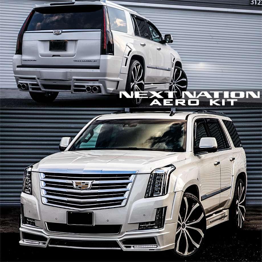 エスカレード ネクストネイション NEXT-NATION エアロキット '15y-【アメ車パーツ】