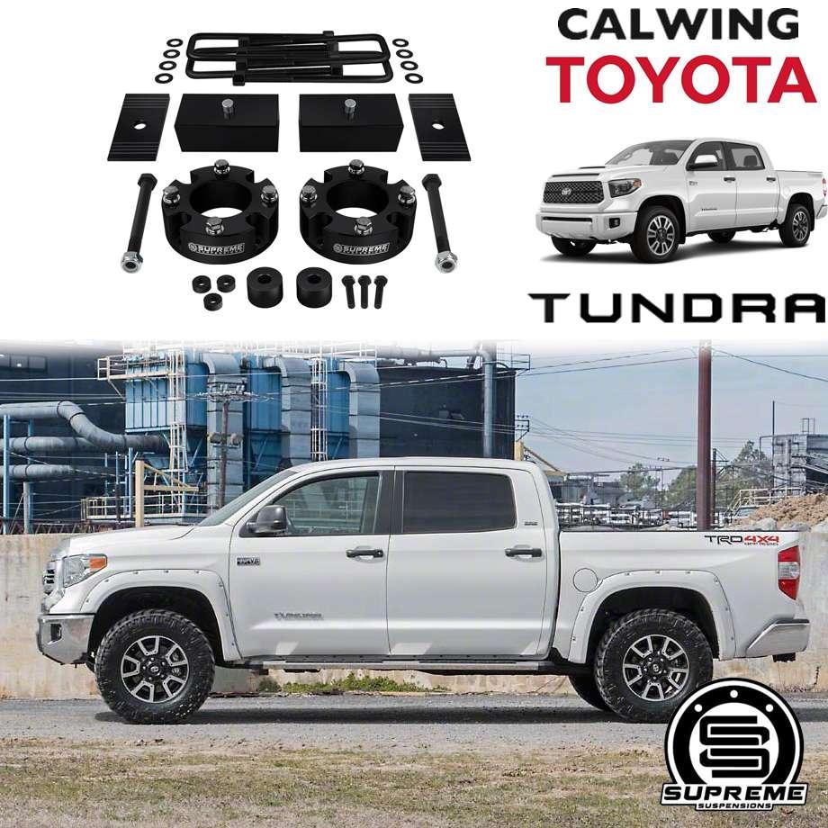 TOYOTA/トヨタ TUNDRA/タンドラ '07y- | F2.5インチ/R1.5インチ リフトアップキット SUPREME SUSPENSION【アメ車パーツ】