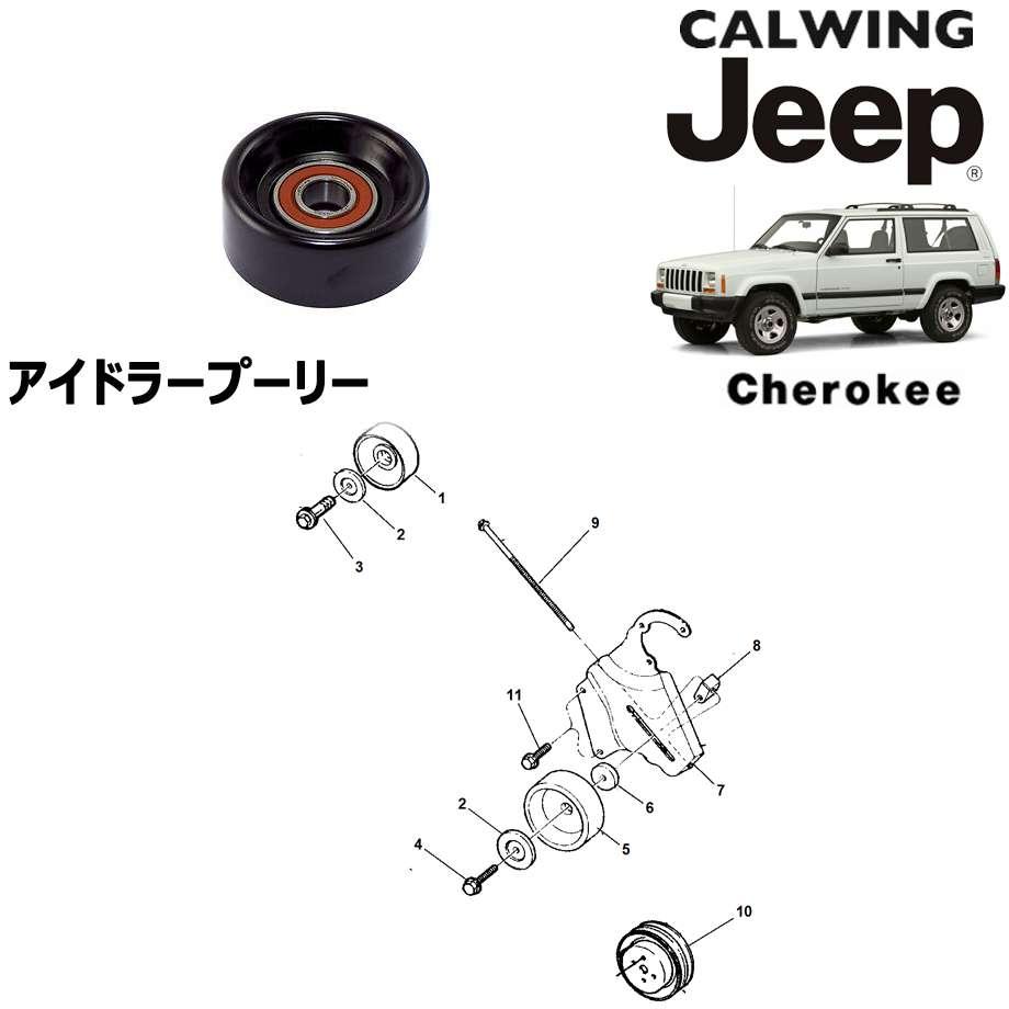 JEEP/ジープ CHEROKEE/チェロキー '94y-'01y | アイドラプーリー MOPAR純正【アメ車パーツ】