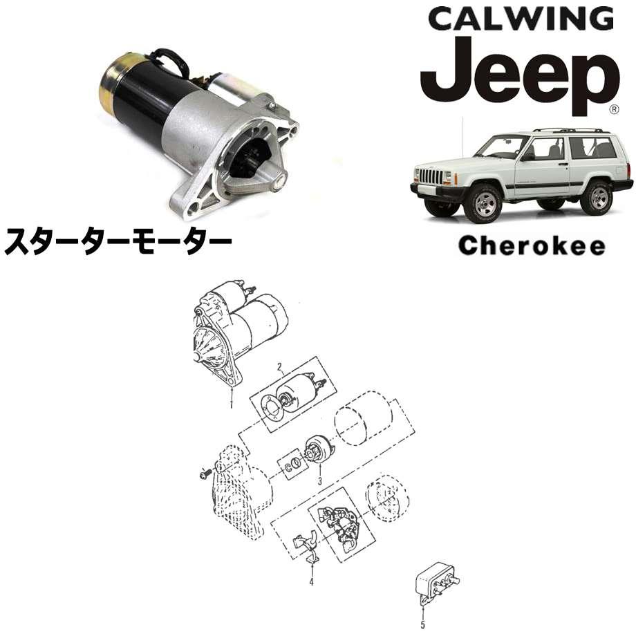 JEEP/ジープ CHEROKEE/チェロキー '94y-'01y | スターターモーター MOPAR純正【アメ車パーツ】