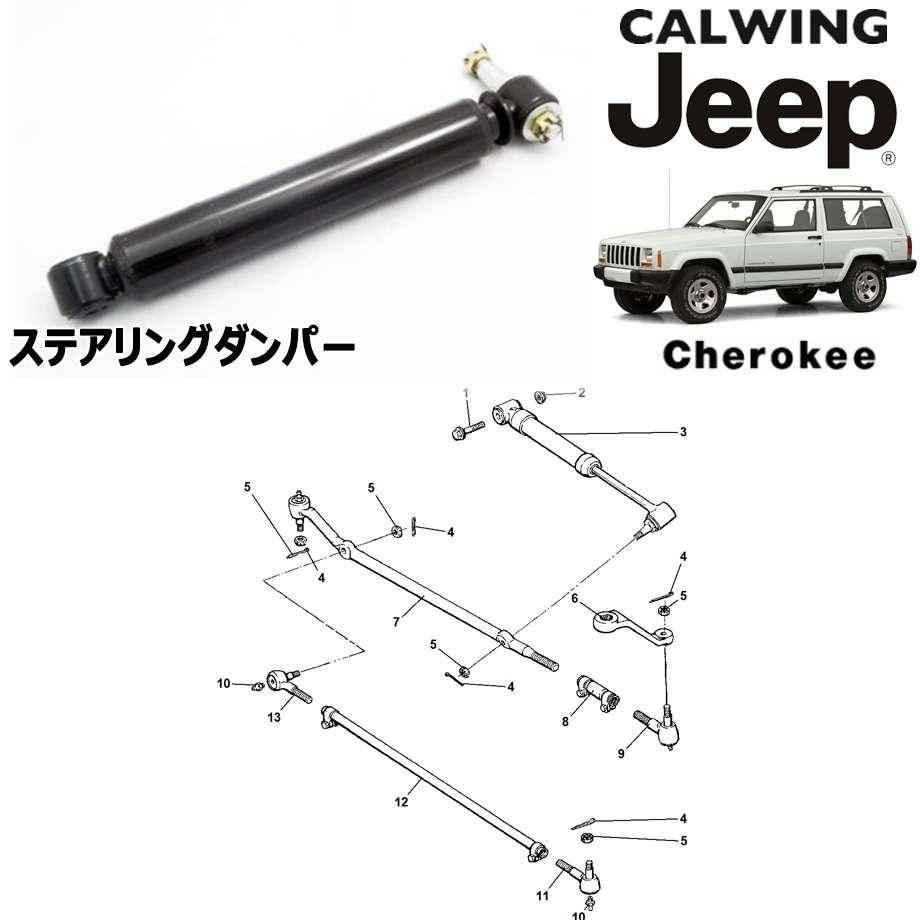 JEEP/ジープ CHEROKEE/チェロキー '94y-'01y | ステアリングダンパー MOPAR純正【アメ車パーツ】