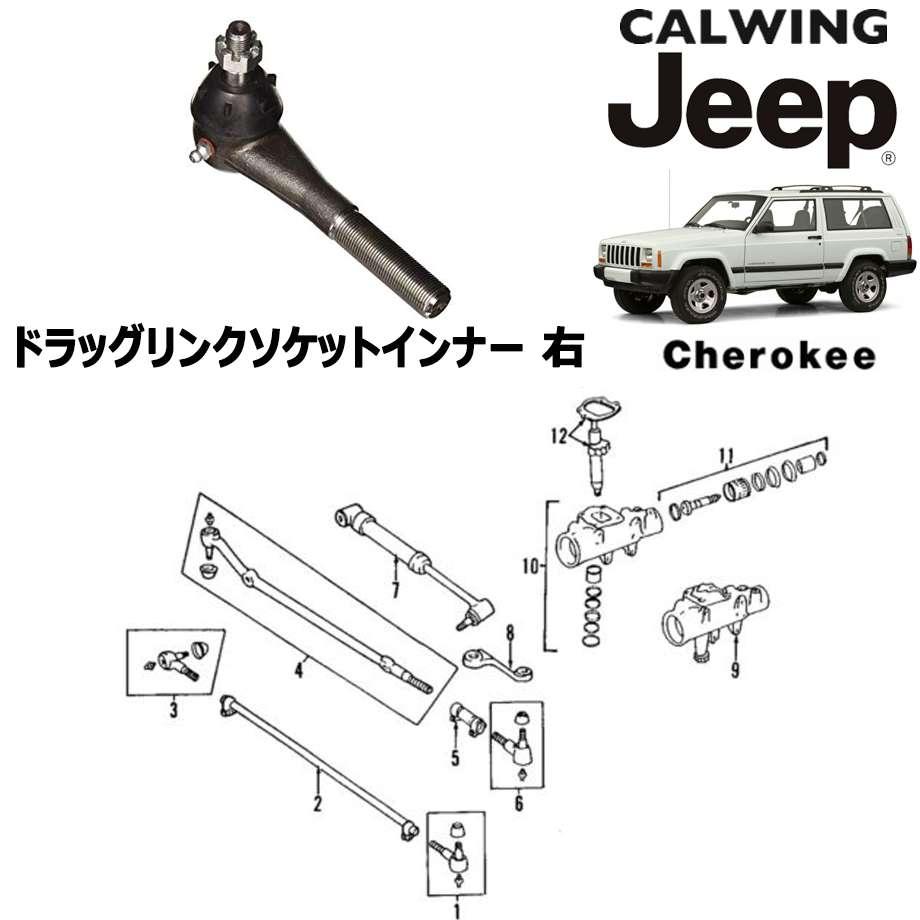 JEEP/ジープ CHEROKEE/チェロキー '94y-'01y | ドラッグリンクソケット インナー 右 MOPAR純正【アメ車パーツ】