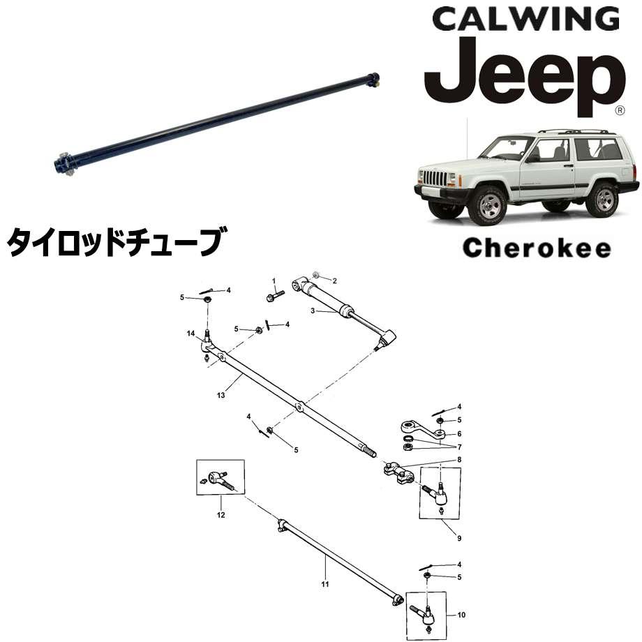 JEEP/ジープ CHEROKEE/チェロキー '94y-'01y | タイロッド チューブ MOPAR純正【アメ車パーツ】