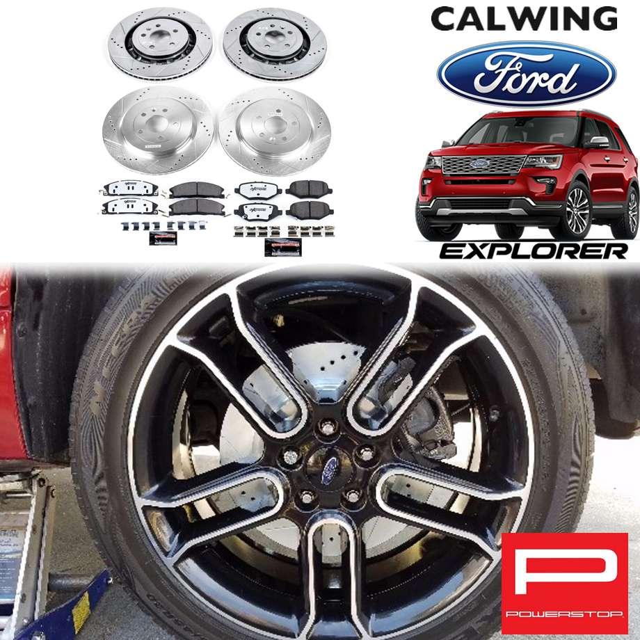 FORD/フォード EXPLORER/エクスプローラー ヘビーデューティ車 '13y-'19y | 強化パフォーマンスブレーキキット Z23エボリューション キャリパー付き POWERSTOP/パワーストップ【アメ車パーツ】