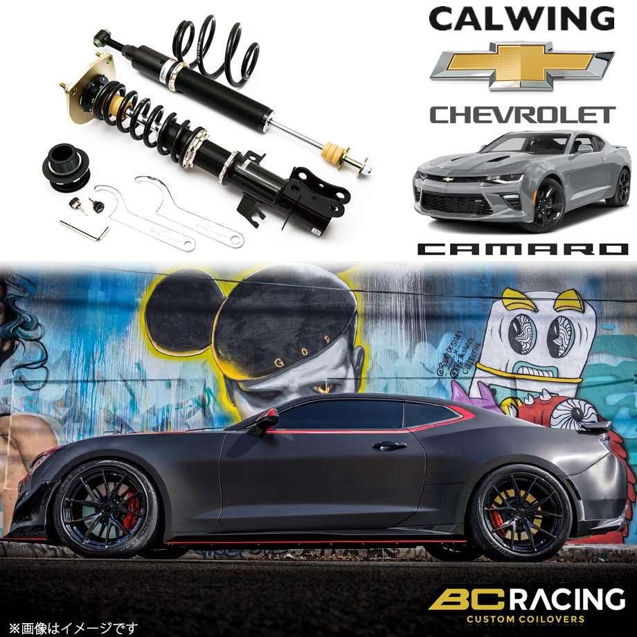 CHEVROLET/シボレー CAMARO/カマロ '16y- | コイルオーバーキット 車高調 フルタップ 全長調整式 BCレーシング BRシリーズ RAタイプ【アメ車パーツ】