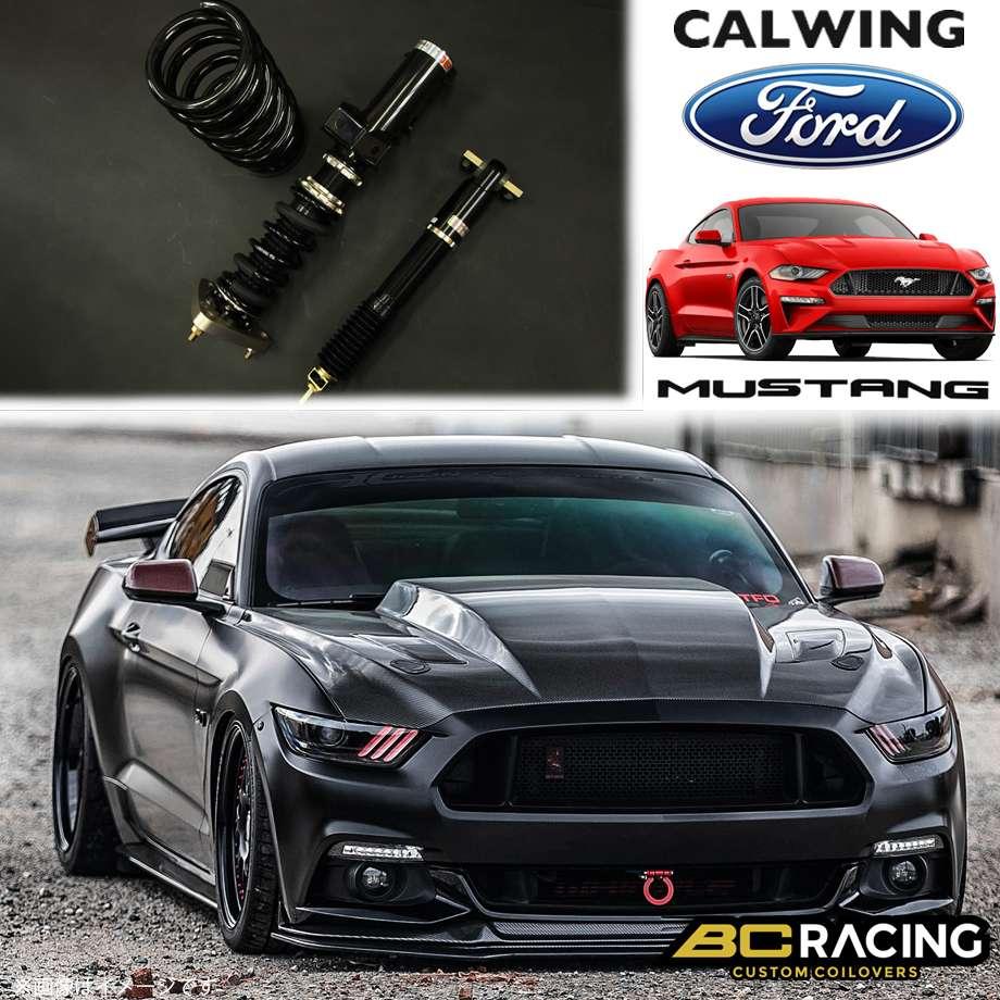 FORD/フォード MUSTANG/マスタング '15y- | コイルオーバーキット 車高調 フルタップ 全長調整式 BCレーシング BRシリーズ RAタイプ【アメ車パーツ】