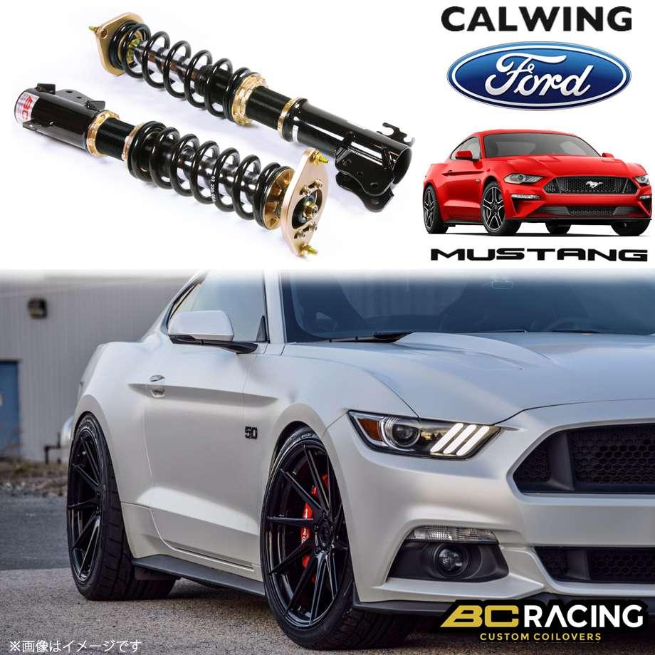 FORD/フォード MUSTANG/マスタング '15y- | コイルオーバーキット 車高調 フルタップ 全長調整式 BCレーシング RMシリーズ MAタイプ【アメ車パーツ】