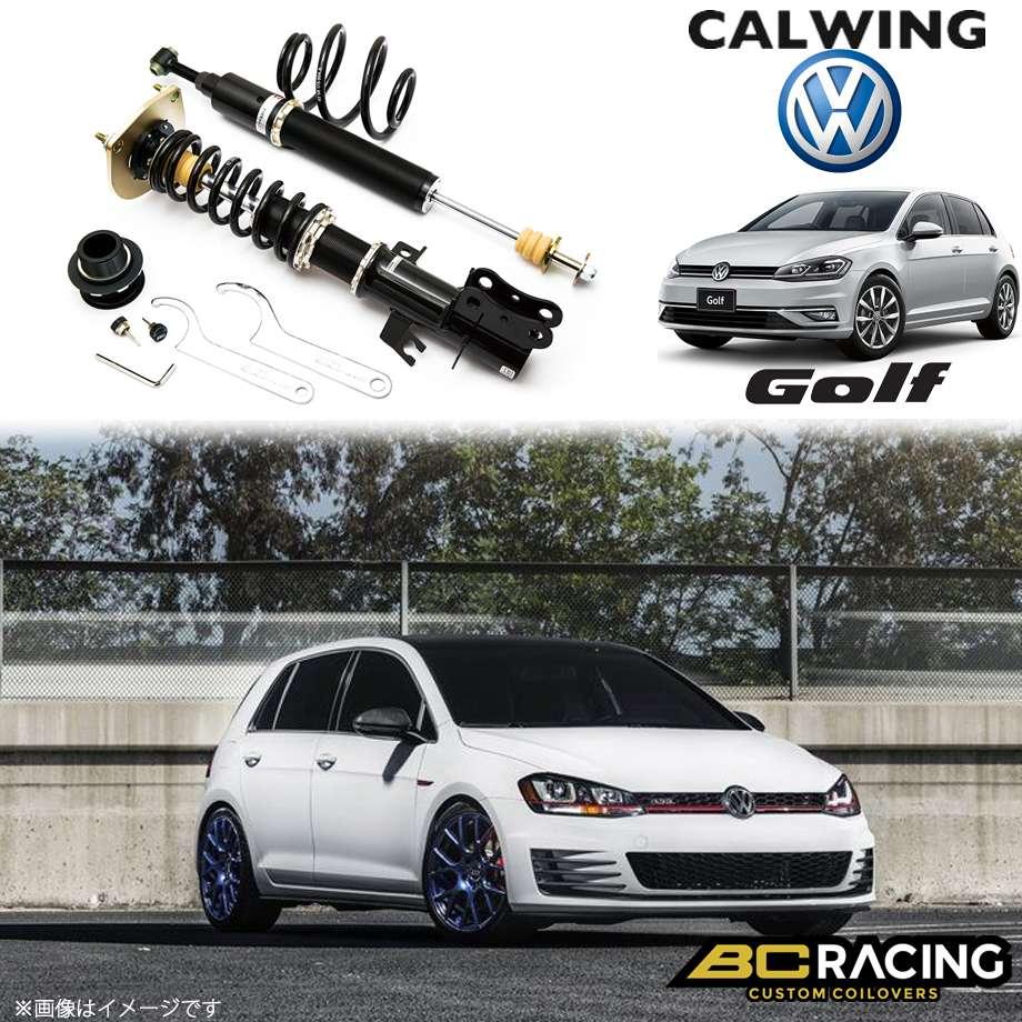 VOLKSWAGEN/フォルクスワーゲン GOLF/ゴルフ 7 AU FS50ミリ '13y- | コイルオーバーキット 車高調 フルタップ 全長調整式 BCレーシング BRシリーズ RSタイプ【欧州車パーツ】