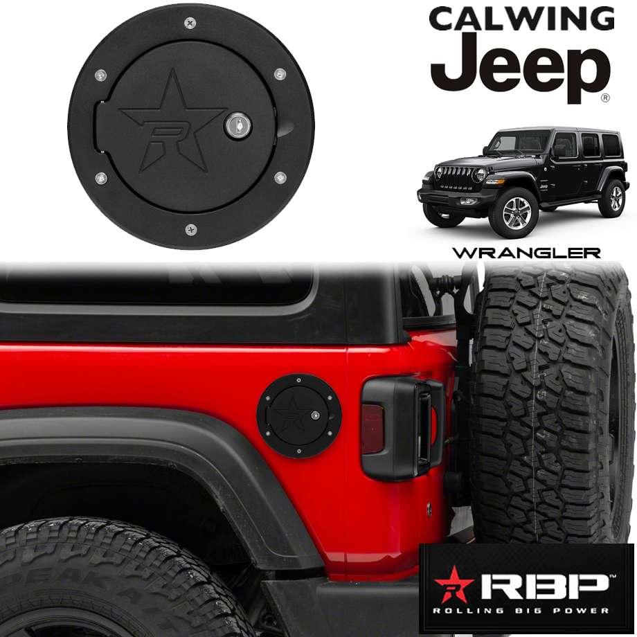 JEEP/ジープ WRANGLER/ラングラー JL '18y- | フューエルドア ブラック キー付き RBP【アメ車パーツ】