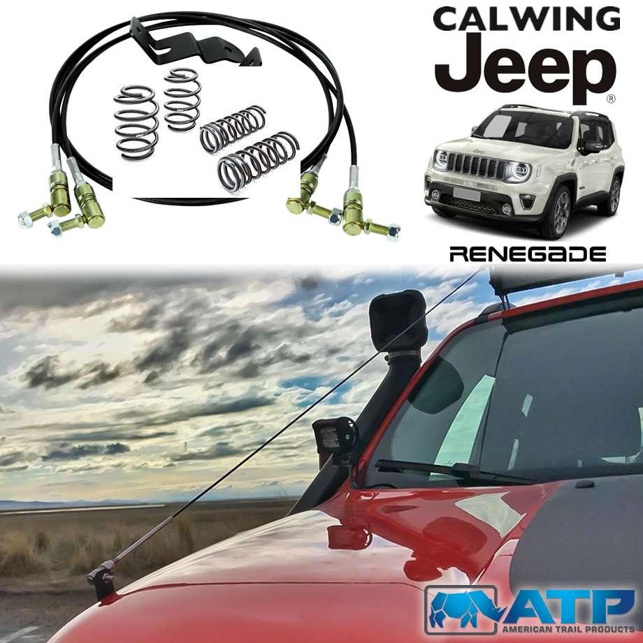 JEEP/ジープ RENEGADE/レネゲード '15y- | ライトバーリムライザーキット ATP/アメリカントレイルプロダクツ【アメ車パーツ】